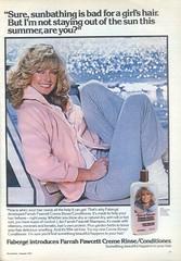 1970's Farrah Faucett Shampoo (twitchery) Tags: vintage hair shampoo 80s 70s conditioner farrah vintageads vintagebeauty