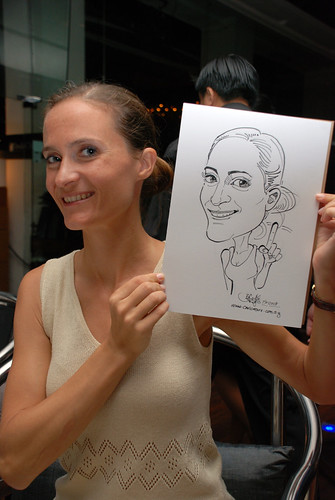 Caricature birthday party 190108 4