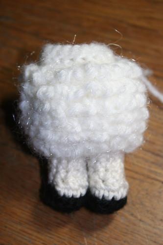 Amigurumi sheep body