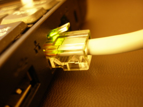 RJ45 Ethernet Cable by kaeru.my.