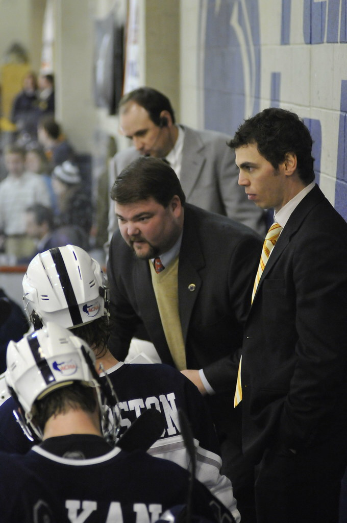 Ice Hockey Coach Balboni