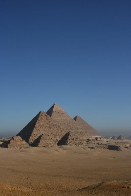 Plateau de Gizeh - Egypte