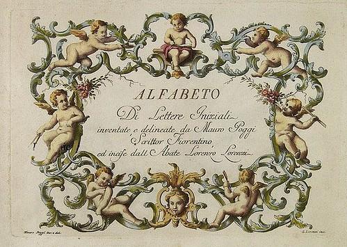 Mauro Poggi - Alfabeto di Lettere Iniziale - titlepage