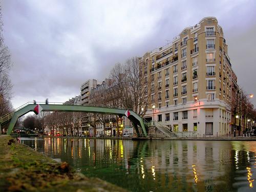 Paris, Canal St-Martin