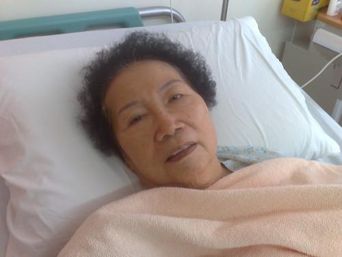 Grandma in Hospital 2