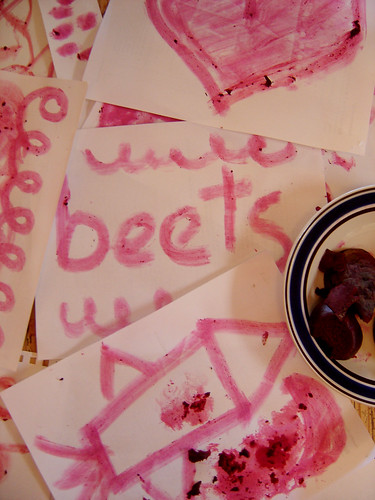 art with beets