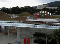 Sod roof, California Academy of Sciences (Michael Layefsky) Tags: goldengatepark aerial kap sanfranciscoca kiteaerialphotography californiaacademyofsciences sodroof camremote chdk thelivingroof