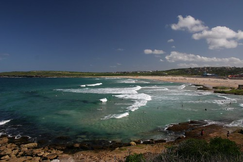 Maroubra Beach, Sydney East.