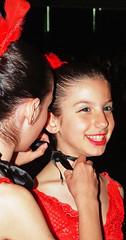 Sorridi.... (seleniamorgillo) Tags: red portrait baby black girl children chica rosso ritratto noa lavitabella nicolapiovani ritrattidiof photobyseleniamorgillo modelfederica
