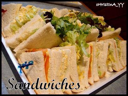Mentor Lunch: Sandwiches