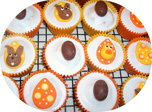 Easter cupcakes -ph: 0438322107 by delicious cupcakes & children's party catering.