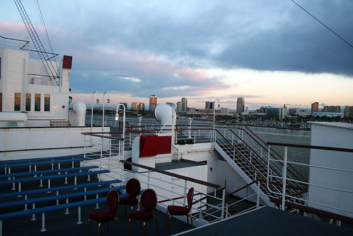 What You See If You Get Married on the Queen Mary (at Sunrise)