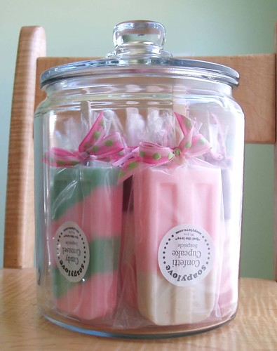 Soapsicle Display Jar