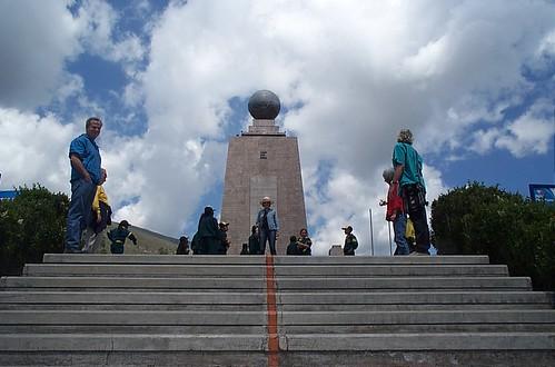 Quito - Equator monument