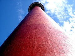 Andenes Lighthouse (little_frank) Tags: city blue light red sky cloud lighthouse colour building tower beautiful beauty up norway vertical architecture wonderful faro rouge islands norge town high amazing construction europe torre symbol cloudy pov balcony profile north norwegen style landmark pointofview deck cielo noruega nordic tall rays farol typical scandinavia northern monolith rosso phare vuurtoren impressive imposing norvegia fyr leuchtturm archipelago towering norvege andenes edifice andoy norvge   isole  vesteralen  andoya supershot norvegese  imponence
