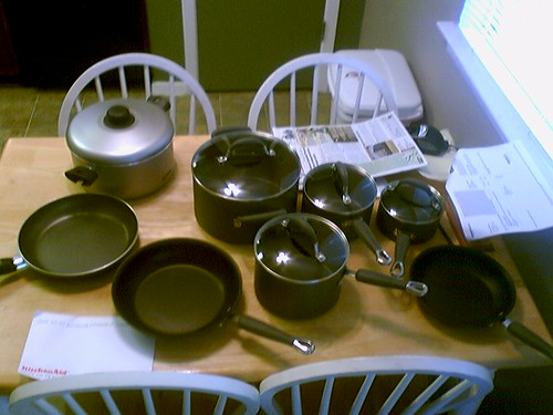 New cookware