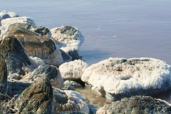 Spiral Jetty7 (speedoman2222) Tags: lake art water spiral rocks natural jetty salt formation basalt smithson