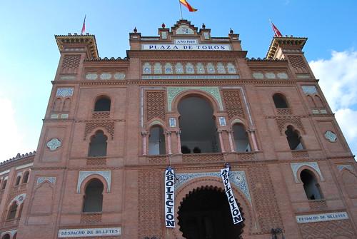 Protesta en Las Ventas - Madrid