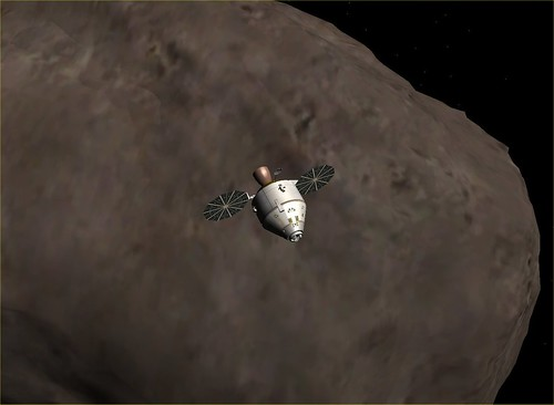 Orion CEV with Asteroid #2