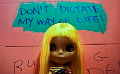 """""""Don't dictate my way of life"""" - new version"""