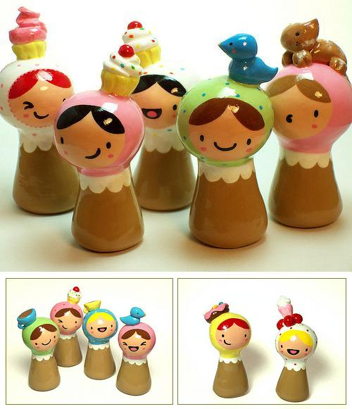 Polymer Clay Plini Figurines