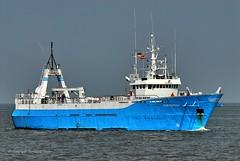 Blue Capella (Bernhard Fuchs) Tags: boat cargo cargoships cuxhaven elbe frachtschiffe nikon offshore offshoreversorger schiffe ship ships vessel water boot schiff wasser offshoreship offshoreships