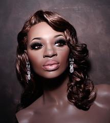 Irene Major (dashndazzle) Tags: dashndazzle mannequin makeup rootstein irene major drama diva