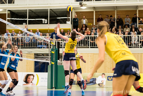 "3. Heimspiel vs. Volleyball-Team Hamburg • <a style=""font-size:0.8em;"" href=""http://www.flickr.com/photos/88608964@N07/32694278651/"" target=""_blank"">View on Flickr</a>"