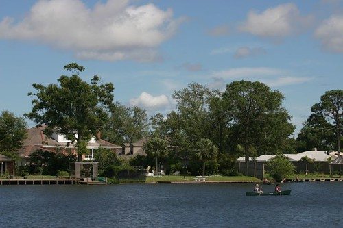 Bayou St. Johns, New Orleans.