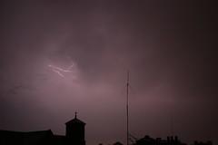 (jeffreywithtwof's) Tags: storm jeff church weather brooklyn night clouds place bolts thunderstorm lightning streaks hutton thunder rattle bedstuy taaffe jeffhutton jeffhuttonphotography jeffreyhutton