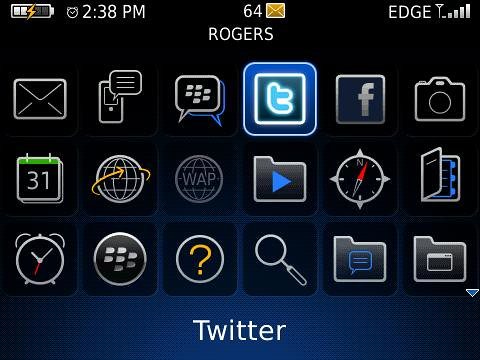Twitter for BlackBerry App