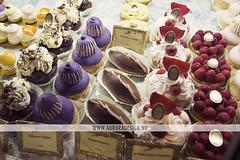 Ladurée cakes - Paris (Naomi Rahim (thanks for 5 million visits)) Tags: food paris france cakes cafe counter sweet cream selection desserts gourmet delicious patisserie colourful pastries luxury framboise decadent religieuse ladurée tartefraisemascarpone lpsweet