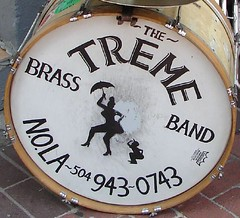 Treme Brass Band drum (by: Mark Gstohl, creative commons license)
