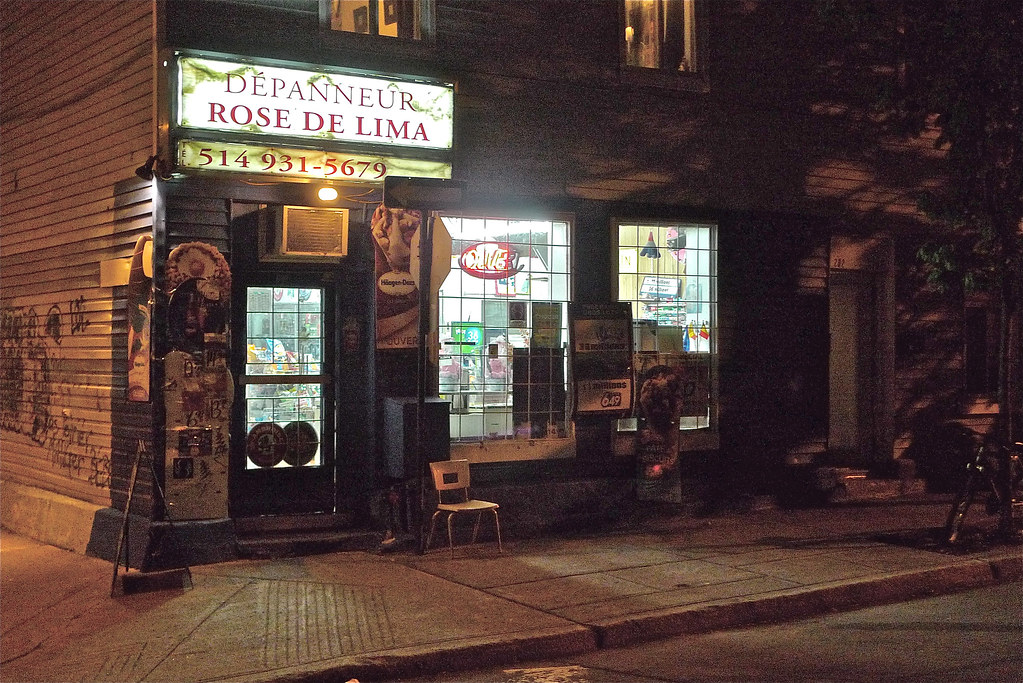 Copyright Photo: A Classic Montreal Depanneur by Montreal Photo Daily, on Flickr