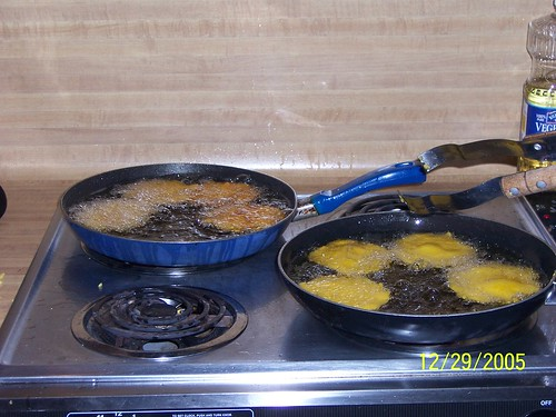 frying cornbread