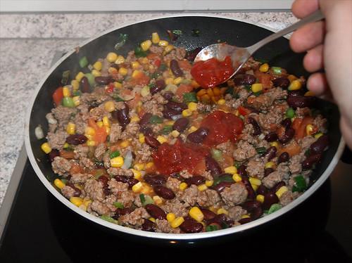 25 - Salsa einrühren