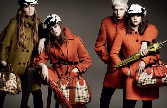 Burberry Autumn Winter 2011 Ad Campaign3