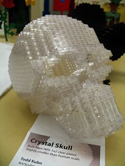 lego crystal skull (Rakka) Tags: seattle skull lego seattlecenter crystalskull skulladay brickcon2007 legocon brickcon07 legocrystalskull