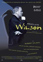 Póster de 'Absolute Wilson', documental de Katharina Otto-Bernstein