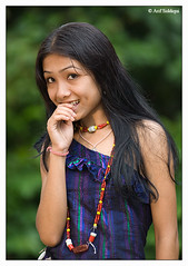 A Small Town Girl 01 (Arif Siddiqui) Tags: portrait people india girl beauty face women shy tribes assam northeast karbi arif arunachal tribals siddiqui 50millionmissing anglong arunachali