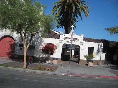 La prima missione religiosa in L.A.