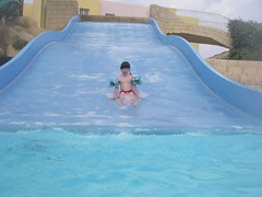 (the4c's) Tags: camera vacation holiday wet water pool cole pentax tunisia slide waterslide waterfun waterproof w20