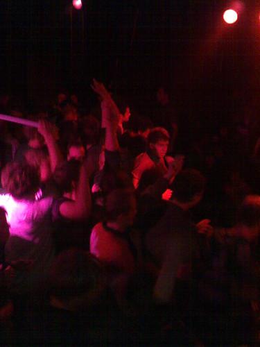Egotronic @ Conne Island, Bühne