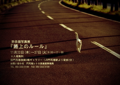 路上のルール photo exhibition
