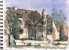 house on sterne park (mike thomas) Tags: urban house architecture pen watercolor sketch drawing brush loose brushpen penandink pleinair drawingsubject lineandwash artbookklub