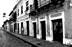 Street in Olinda (Maron) Tags: street houses brazil blackandwhite bw house black brasil blackwhite olinda supermarion marionnesje