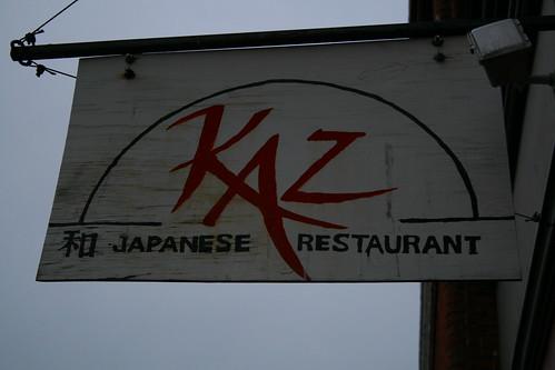 kaz sushi, victoria