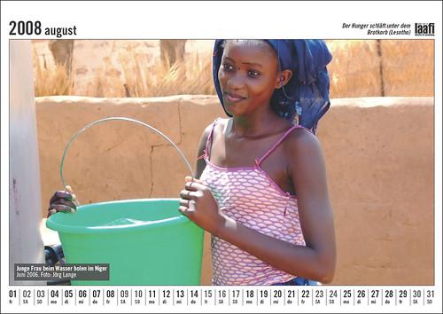 Laafi Kalender 2008 - August