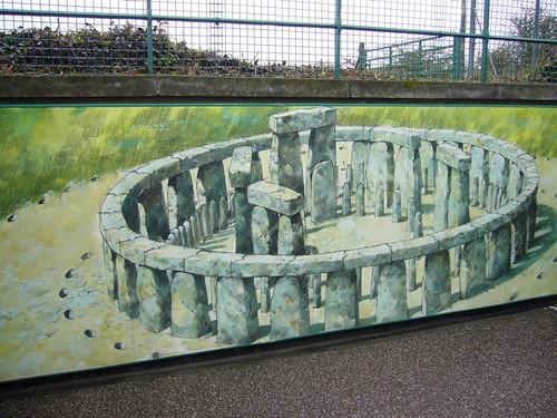 Stonehenge, an artist's impression