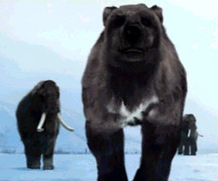 03 short faced bear and mammoths